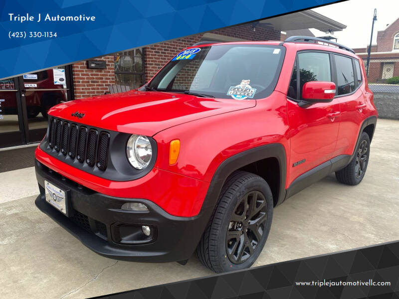2018 Jeep Renegade for sale at Triple J Automotive in Erwin TN
