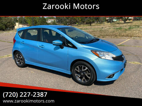 2015 Nissan Versa Note for sale at Zarooki Motors in Englewood CO