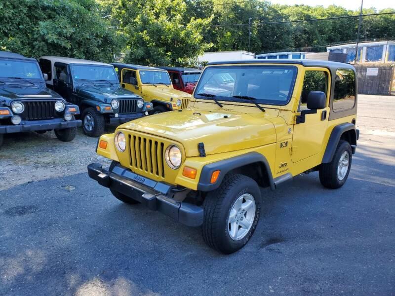 2006 Jeep Wrangler for sale at MX Motors LLC in Ashland MA