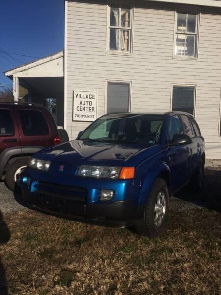 2003 Saturn Vue for sale at Village Auto Center INC in Harrisonburg VA