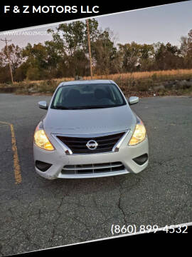 2019 Nissan Versa for sale at F & Z MOTORS LLC in Waterbury CT