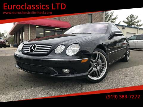 2005 Mercedes-Benz CL-Class for sale at Euroclassics LTD in Durham NC