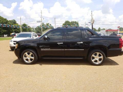 2012 Chevrolet Avalanche for sale at Frontline Auto Sales in Martin TN