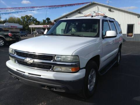 2004 Chevrolet Tahoe for sale at Steves Auto Sales in Cambridge MN