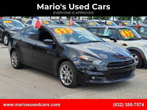 2015 Dodge Dart for sale at Mario's Used Cars - Pasadena Location in Pasadena TX