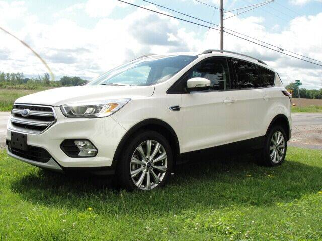 2017 Ford Escape for sale at Caesars Auto in Bergen NY