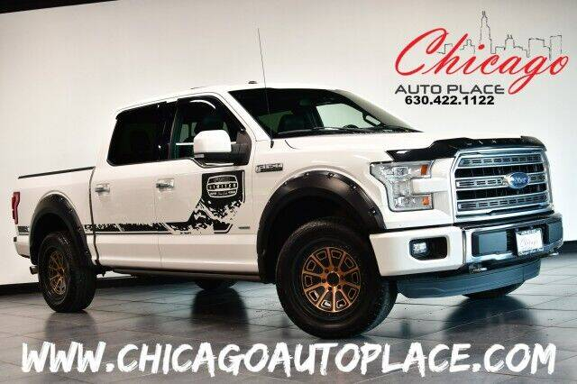 2016 Ford F-150 for sale at Chicago Auto Place in Bensenville IL