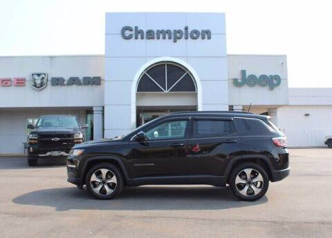 2017 Jeep Compass for sale at Champion Chevrolet in Athens AL