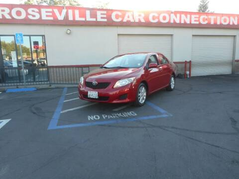 2010 Toyota Corolla for sale at ROSEVILLE CAR CONNECTION in Roseville CA