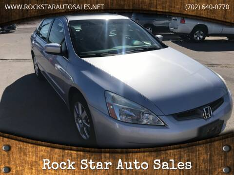 2005 Honda Accord for sale at Rock Star Auto Sales in Las Vegas NV