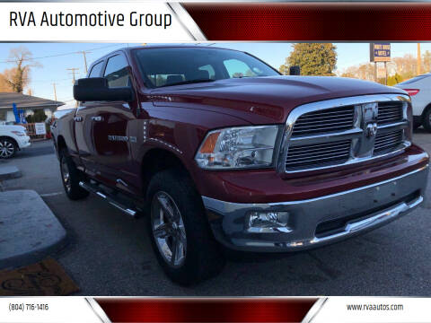 2012 RAM Ram Pickup 1500 for sale at RVA Automotive Group in North Chesterfield VA