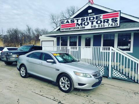 2010 Ford Taurus for sale at EASTSIDE MOTORS in Tulsa OK