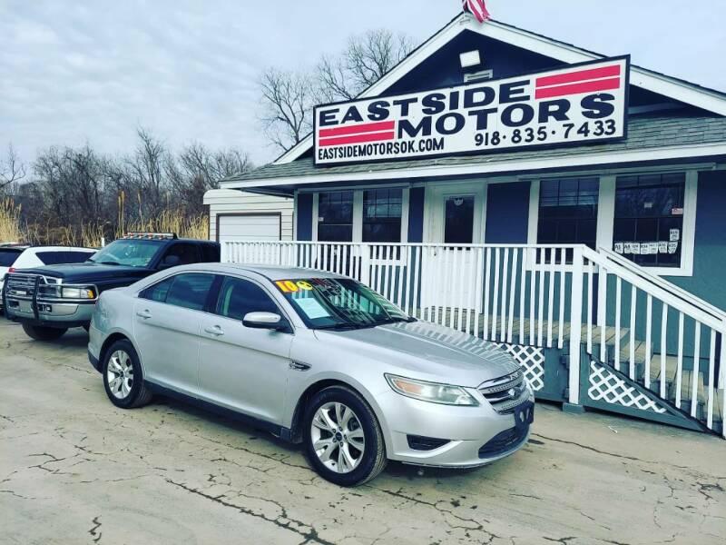 2010 Ford Taurus for sale at EASTSIDE MOTORS in Tulsa OK