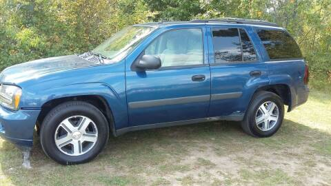 2005 Chevrolet TrailBlazer for sale at Expressway Auto Auction in Howard City MI