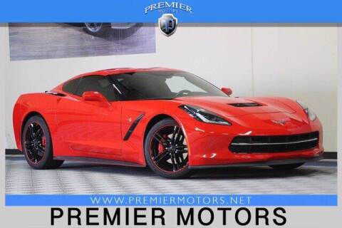 2016 Chevrolet Corvette for sale at Premier Motors in Hayward CA