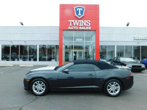 2014 Chevrolet Camaro for sale at Twins Auto Sales Inc Redford 1 in Redford MI