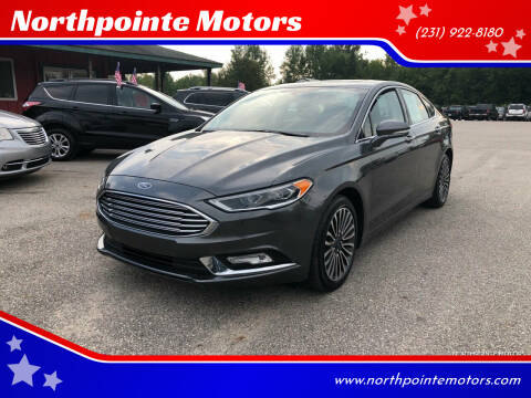2017 Ford Fusion for sale at Northpointe Motors in Kalkaska MI