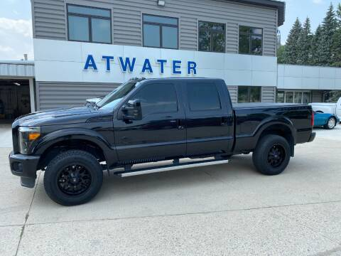 2014 Ford F-250 Super Duty for sale at Atwater Ford Inc in Atwater MN