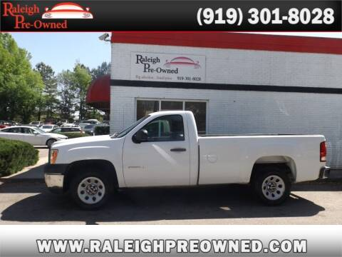 2012 GMC Sierra 1500 for sale at Raleigh Pre-Owned in Raleigh NC
