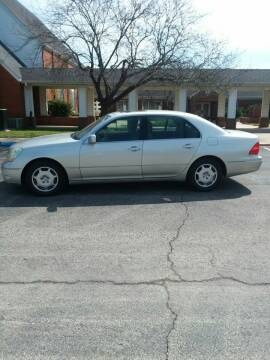 2002 Lexus LS 430 for sale at DALE GREEN MOTORS in Mountain Home AR