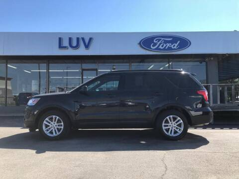 2017 Ford Explorer for sale at Luv Motor Company in Roland OK