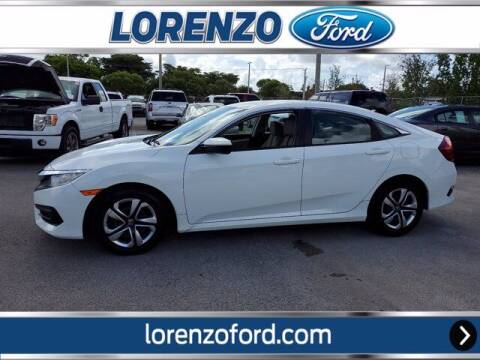 2018 Honda Civic for sale at Lorenzo Ford in Homestead FL