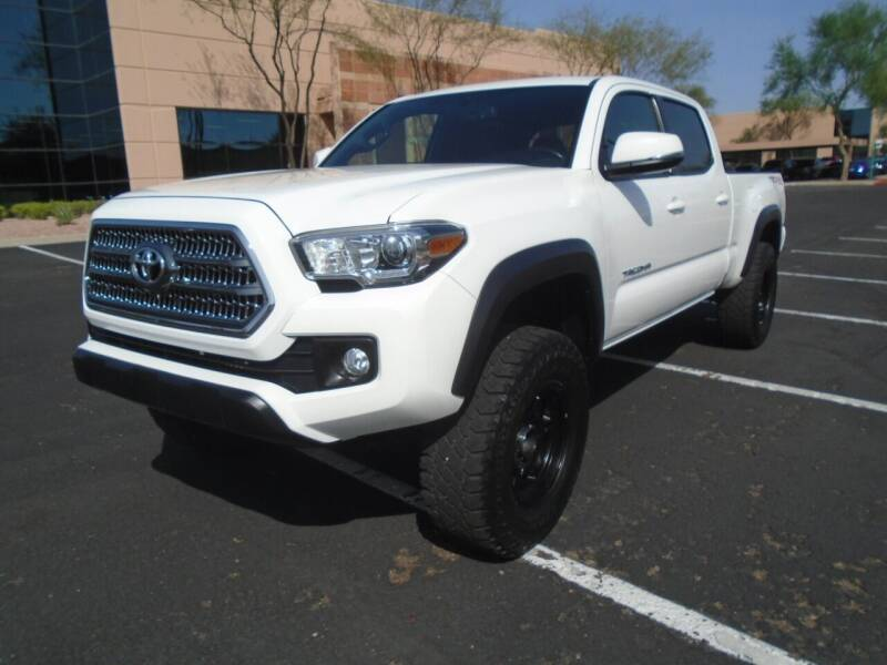 2017 Toyota Tacoma for sale at COPPER STATE MOTORSPORTS in Phoenix AZ
