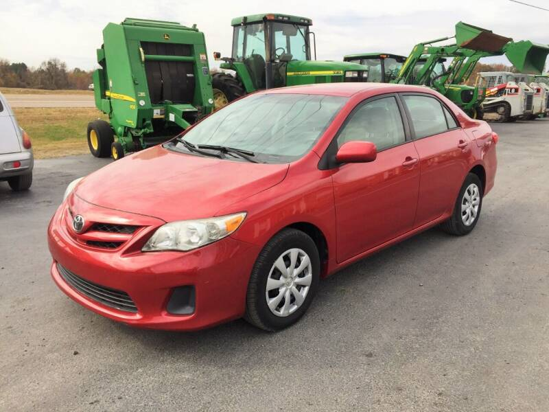 2011 Toyota Corolla for sale at 412 Motors in Friendship TN