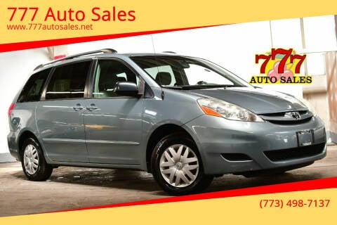 2006 Toyota Sienna for sale at 777 Auto Sales in Bedford Park IL