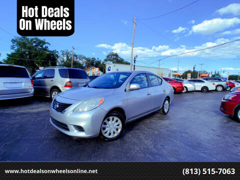 2012 Nissan Versa for sale at Hot Deals On Wheels in Tampa FL