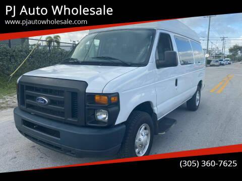 2014 Ford E-Series Cargo for sale at PJ AUTO WHOLESALE in Miami FL