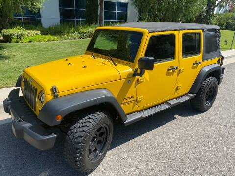 2011 Jeep Wrangler Unlimited for sale at Donada  Group Inc in Arleta CA
