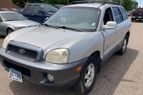 2004 Hyundai Santa Fe for sale at Cannon Falls Auto Sales in Cannon Falls MN