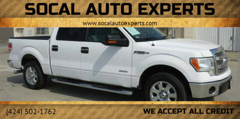 2013 Ford F-150 for sale at SoCal Auto Experts in Culver City CA