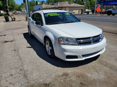2014 Dodge Avenger for sale at Street Side Auto Sales in Independence MO