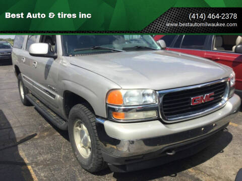 2005 GMC Yukon XL for sale at Best Auto & tires inc in Milwaukee WI