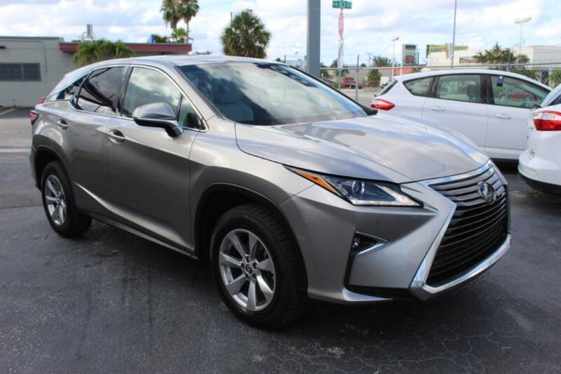 2018 Lexus RX 350 for sale at Truck and Van Outlet in Miami FL