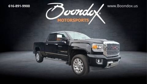 2019 GMC Sierra 2500HD for sale at Boondox Motorsports in Caledonia MI