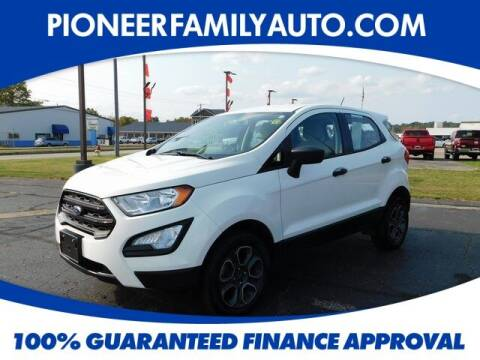 2018 Ford EcoSport for sale at Pioneer Family auto in Marietta OH