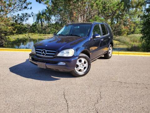 2002 Mercedes-Benz M-Class for sale at Excalibur Auto Sales in Palatine IL
