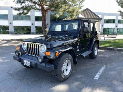 2004 Jeep Wrangler for sale at Hi5 Auto in Fremont CA