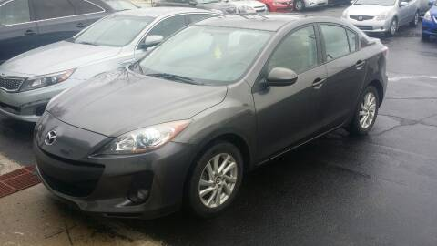 2013 Mazda MAZDA3 for sale at Nonstop Motors in Indianapolis IN