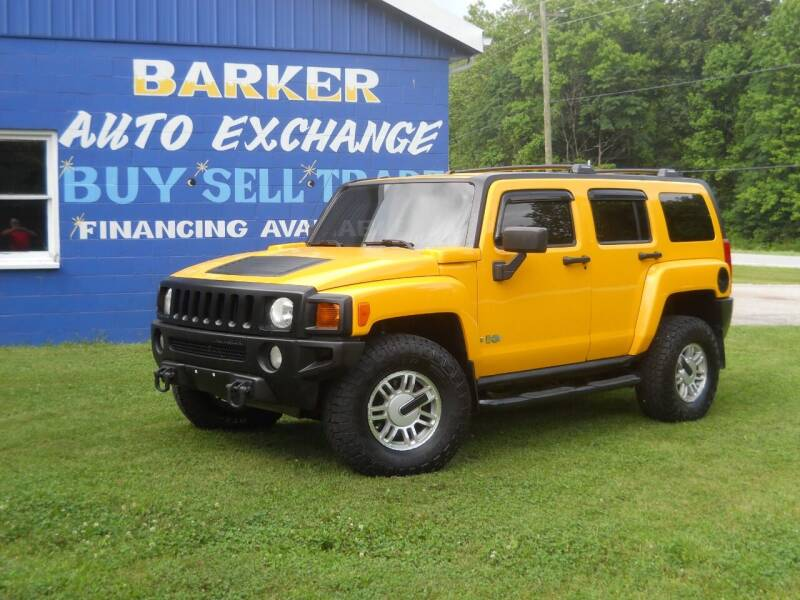 2006 HUMMER H3 for sale at BARKER AUTO EXCHANGE in Spencer IN