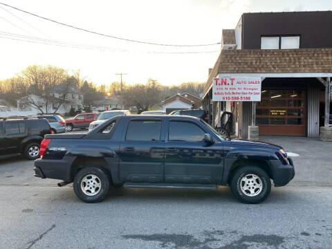 2006 Chevrolet Avalanche for sale at TNT Auto Sales in Bangor PA