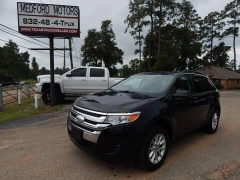 2013 Ford Edge for sale at Medford Motors Inc. in Magnolia TX