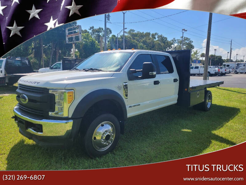 2017 Ford F-450 Super Duty for sale at Titus Trucks in Titusville FL