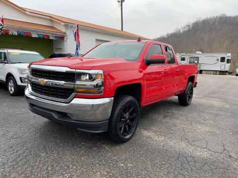 2018 Chevrolet Silverado 1500 for sale at PIONEER USED AUTOS & RV SALES in Lavalette WV