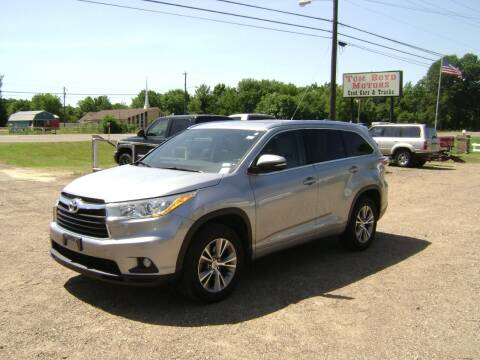 2014 Toyota Highlander for sale at Tom Boyd Motors in Texarkana TX