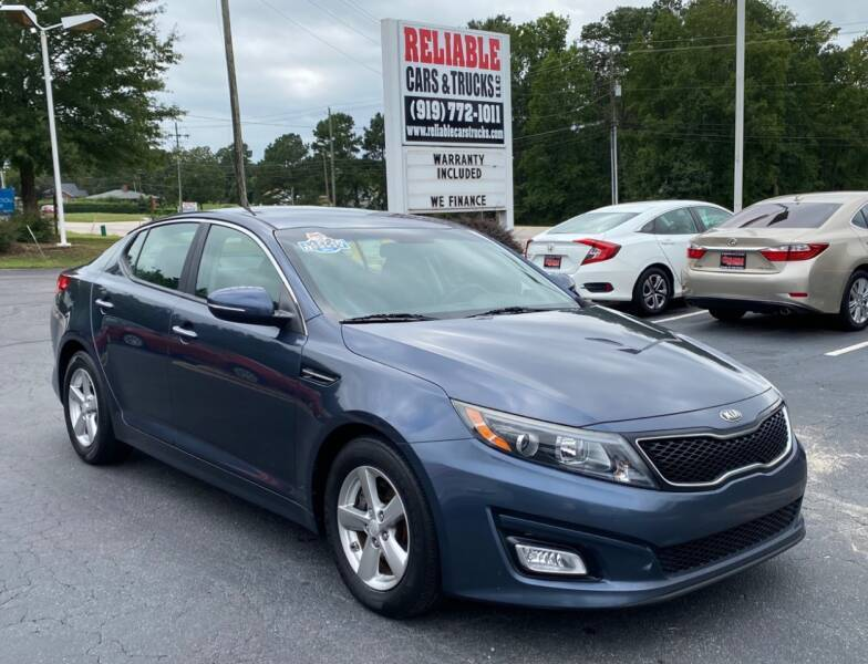 2015 Kia Optima for sale at Reliable Cars & Trucks LLC in Raleigh NC