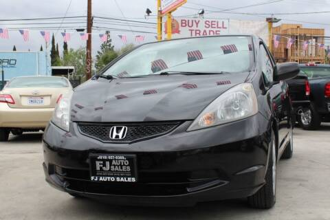 2011 Honda Fit for sale at Good Vibes Auto Sales in North Hollywood CA